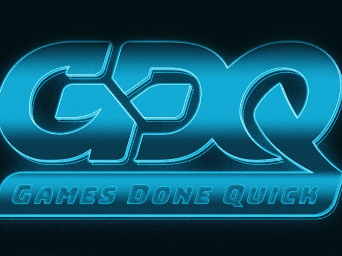 Quelle: gamesdonequick.com - Games Done Quick - Speedrun-Marathon-Event