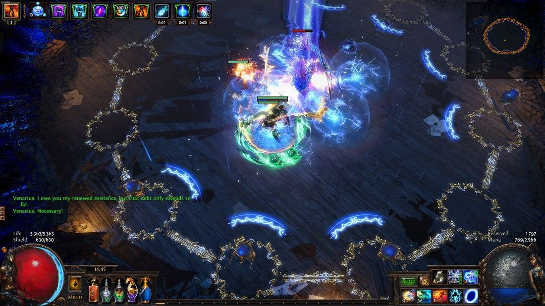 Path of Exile - Synthesis League - Boss: Venarius