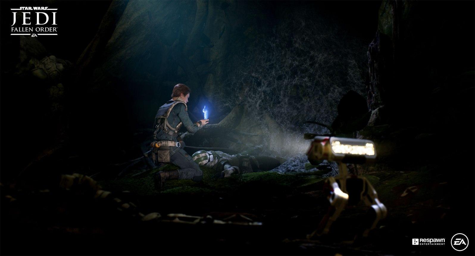 Quelle: EA - Star Wars Jedi: Fallen Order - Spurensuche via Hologramm