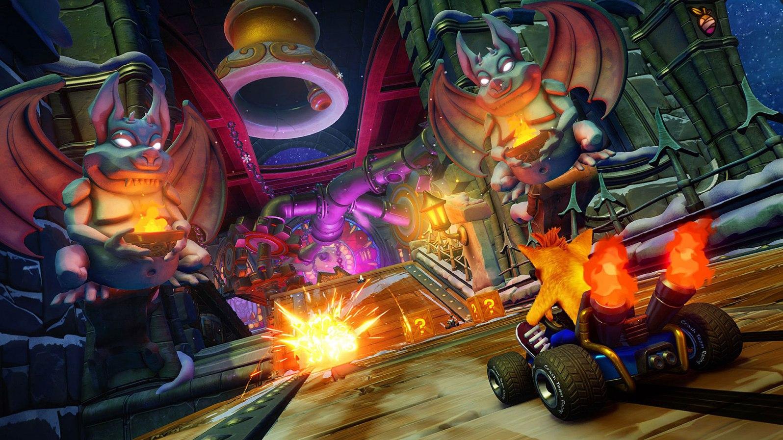 Quelle: Twitter/@CrashBandicoot - Crash Team Racing Nitro-Fueled