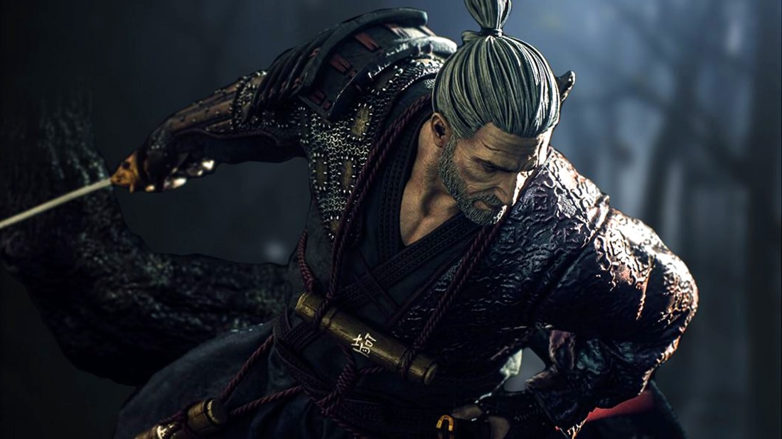 Geralt Als Herrenloser Samurai Rushbfast Gamers Lifestyle