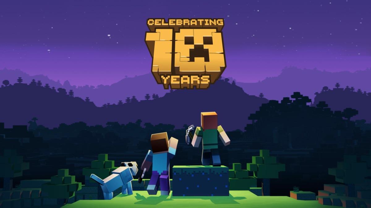 Quelle: minecraft.net - Minecraft Artwork - Celebrating 10 Years