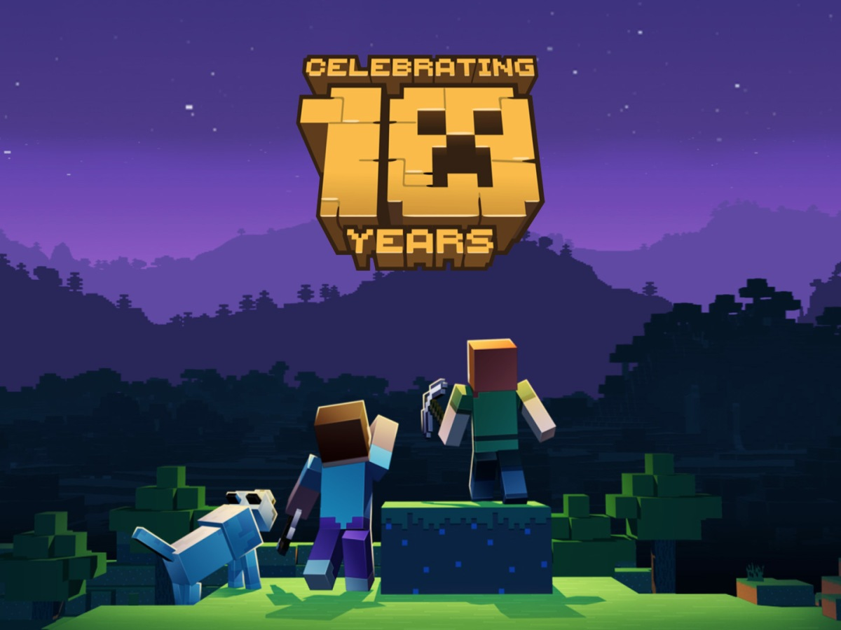 Quelle: minecraft.net - Minecraft Artwork - Celebrating 10 Years