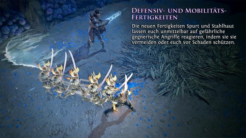 Quelle: Grinding Gear Games - Path of Exile: Legion - Neue Ausweich-Fertigkeiten