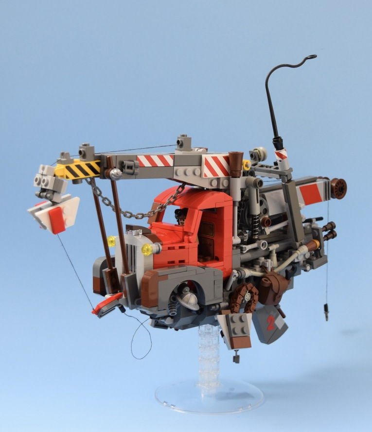 Quelle: flickr/red 2 - Flying Pick Up (Inspired by Ian McQue)