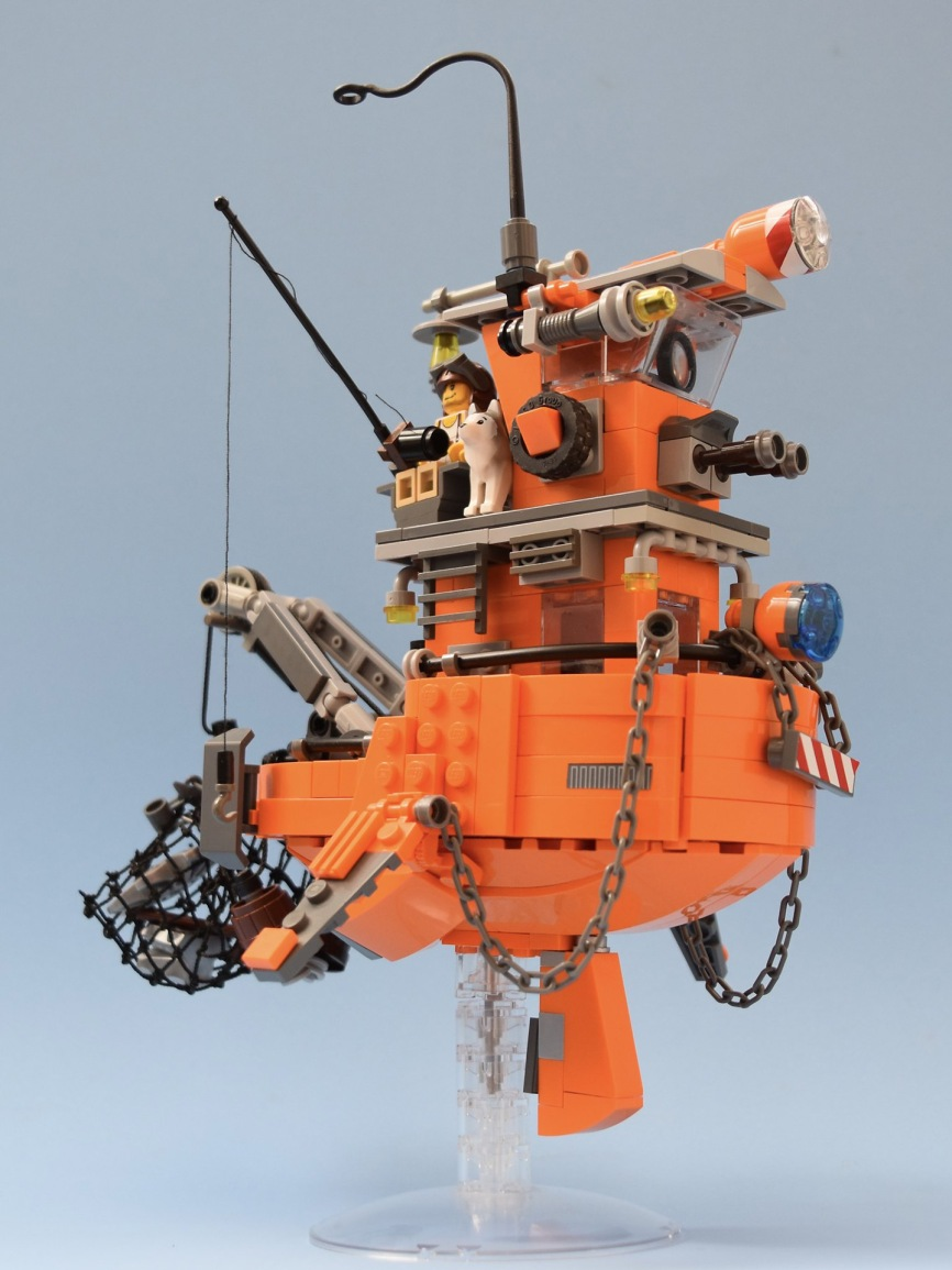 Quelle: flickr/red 2 - Tug Boat Inspired by Ian McQue