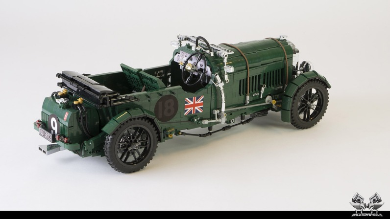 Quelle: flickr/Bricksonwheels - 1930 Bentley Blower (Heck)