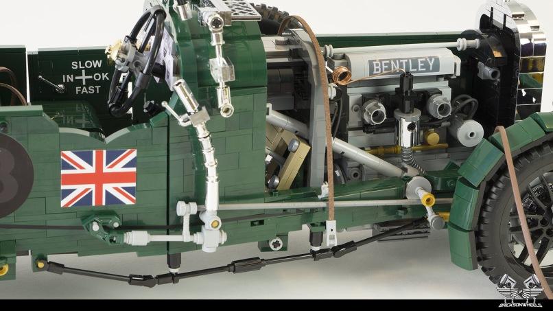 Quelle: flickr/Bricksonwheels - 1930 Bentley Blower (Motor)