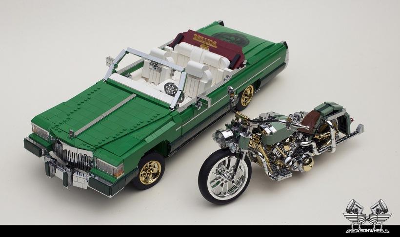 Quelle: flickr/Bricksonwheels - Cadillac Fleetwood Le Cabriolet