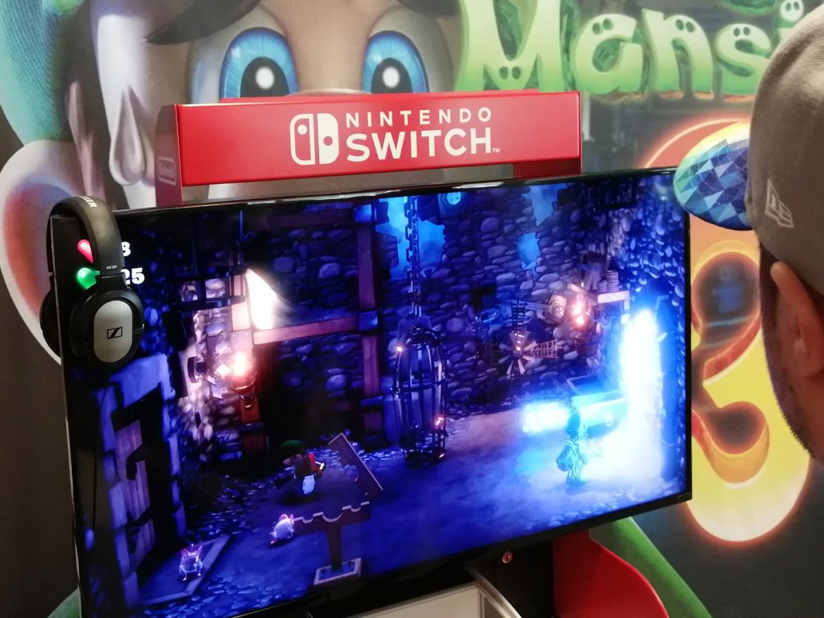 Angespielt: Ich muss jedes mal schmunzeln wenn ich dieses Foto sehe. Als ob mich Luigi beobachtet, dass ich auch ja alles richtig mache.