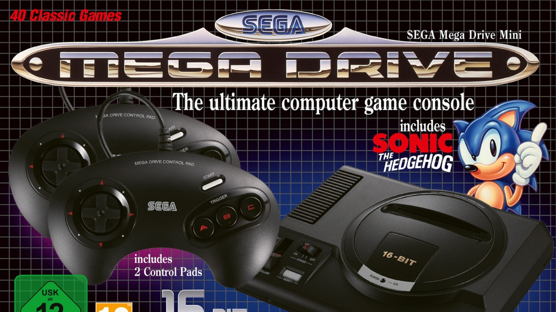 Quelle: Koch Media - Sega Mega Drive Mini