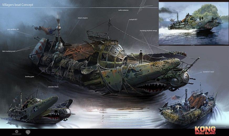 Quelle: neisbeis.artstation.com - Ignacio Bazan-Lazcano - Skull Island concept art part 2
