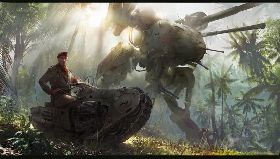 Quelle: neisbeis.artstation.com - Ignacio Bazan-Lazcano - Metal Gear Solid Ocelot